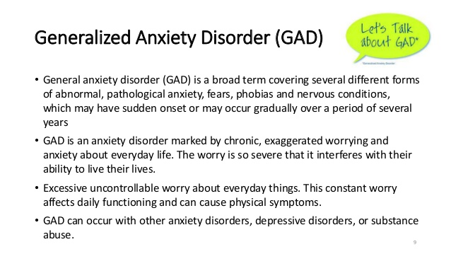 Understanding Generalized Anxiety >> Five Things People Don T Understand About Panic Disorder Rising